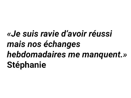 Témoignage de Stephanie